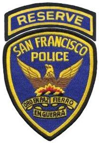 SFPD Reserve Officers patch