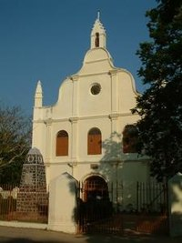 St. Francis CSI Church, in Kochi. Vasco da Gama died in Kochi in 1524 when he was on his third visit to India. His body was originally buried in this church.
