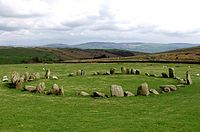 Stone circles in the British Isles and Brittany