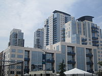 Newer buildings near East River State Park