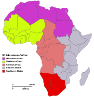 List of regions of Africa