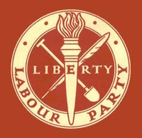 The original Liberty logo, in use until 1983