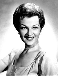 Publicity photo for The Jo Stafford Show, 1954