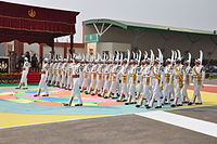 Ski Contingent of the ITBP during their 53rd Raising Day Parade, 2014