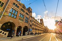 The Amsterdam Stock Exchange, the oldest stock exchange in the world
