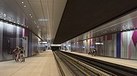 The Amsterdam Metro is a mixed subway and above ground rapid transit system consisting of five lines.