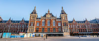 Amsterdam Centraal station, the city's main train station