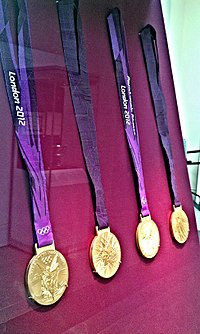 Medals of the London 2012 Olympics