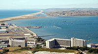 The Weymouth and Portland National Sailing Academy on the Isle of Portland in Dorset hosted the sailing events