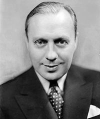 Benny in 1933, newly arrived at NBC and the host of The Chevrolet Program