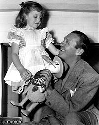 Benny and daughter Joan in 1940