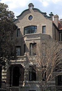 """Hubbard established an """"Academy of Scientology"""" at this Northwest, Washington, D.C. building in 1955. It is now the L. Ron Hubbard House museum."""