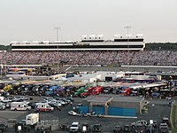 Richmond Raceway, the track where the race will be held.