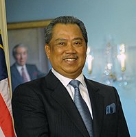 Muhyiddin Yassin, current Prime Minister of Malaysia