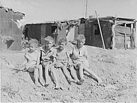 Children of Depression-era migrant workers, Pinal County, 1937