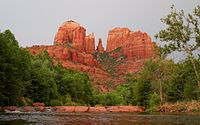 Cathedral Rock near Red Rock Crossing in Sedona