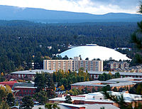 Northern Arizona University (The Skydome) in Flagstaff