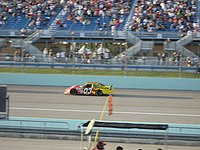 Bodine at the Ford 300 during the 2007 Ford Championship Weekend at Homestead-Miami Speedway.