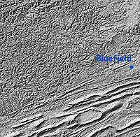Shaded relief map of the Cumberland Plateau and Ridge-and-valley Appalachians.
