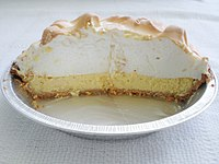 Key lime pie is from Key West, Florida