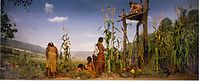 Iroquois planting the Three Sisters.