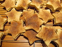 Biscochitos, the state cookie of New Mexico