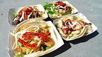 """Korean tacos from the """"Seoul on Wheels"""" truck in San Francisco"""