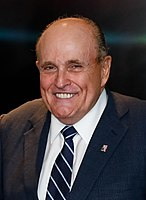 Rudy Giuliani, head of Trump's failed legal efforts, falsely asserted that the election had been subject to massive fraud.