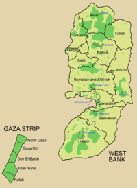 Governorates of the Palestinian National Authority