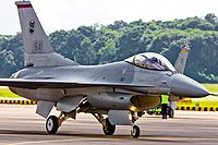 An F-16C of 140 Sqn.