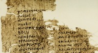 A 5th-century papyrus showing a parallel Latin-Greek text of a speech by Cicero