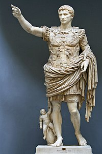 The Augustus of Prima Porta (early 1st century AD)