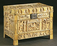 Brescia Casket, an ivory box with Biblical imagery (late 4th century)