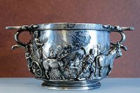 Silver cup, from the Boscoreale Treasure (early 1st century AD)
