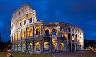 Construction on the Flavian Amphitheatre, more commonly known as the Colosseum (Italy), began during the reign of Vespasian.