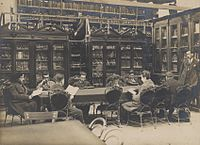 Beyazıt State Library was founded in 1884.