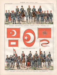 The Ottoman Imperial Army in 1900