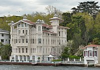 Yalı is a house or mansion constructed at immediate waterside on the Bosphorus strait in Istanbul
