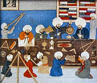 Constantinople observatory of Taqi ad-Din in 1577