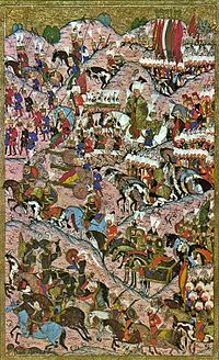 The Battle of Mohács in 1526