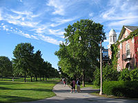 Stevens Hall at the University of Maine in Orono