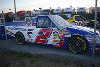 The No. 2 truck in 2008, driven by Jack Sprague