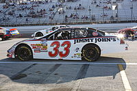 The No. 33 at Milwaukee in 2009. Ron Hornaday drove it in this race.
