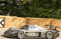 The MC12 marked Maserati's return to racing after a long hiatus