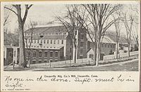 Uncasville Mfg. Co. mill, about 1906