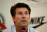 Michael Laudrup, named the best Danish football player of all time by the Danish Football Union