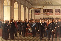 The National Constitutional Assembly was convened by King Frederick VII in 1848 to adopt the Constitution of Denmark.