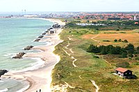 The Danish landscape is characterised by flat, arable land and sandy coasts.