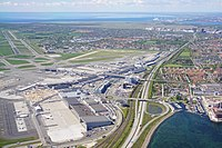 Copenhagen Airport is the largest airport in Scandinavia and the 15th-busiest in Europe.