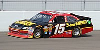 Clint Bowyer's No. 15 during the 2012 Kobalt Tools 400.